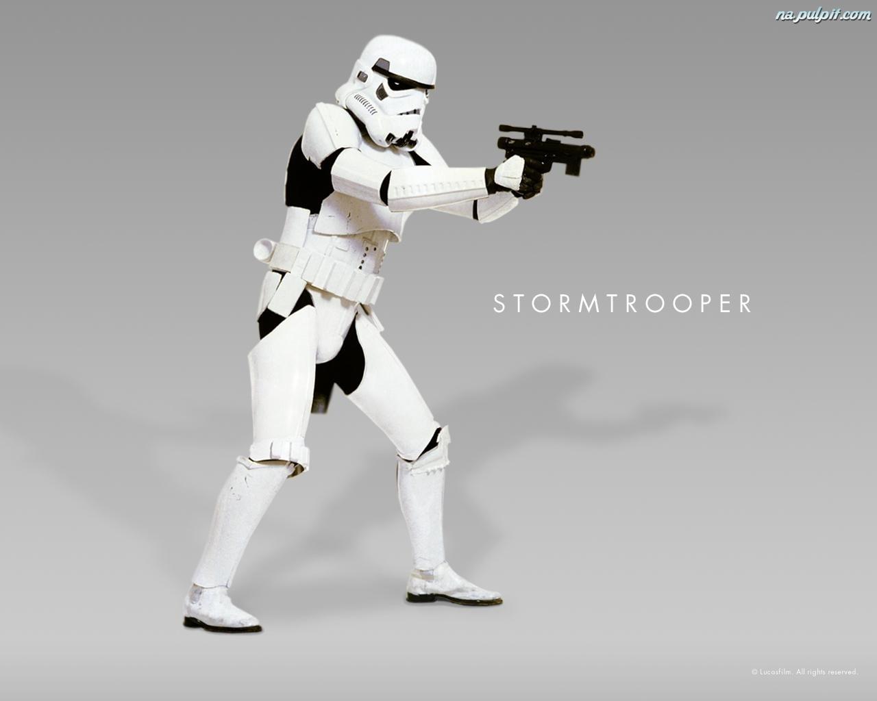 Star Wars White Robot Biały Star Wars Robot